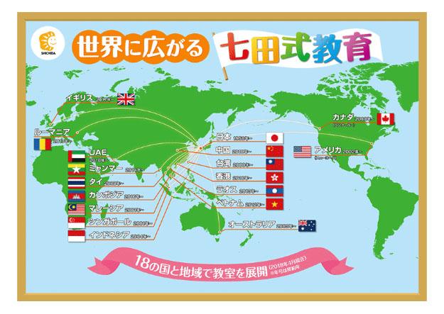 世界に広がる七田式教育